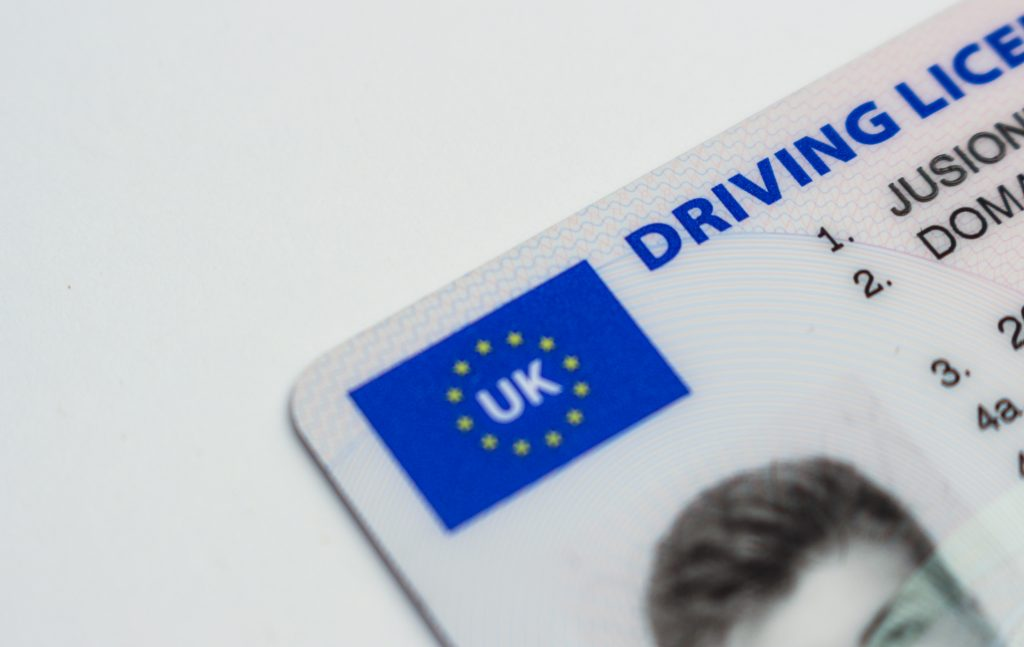 UK driving licence penalty points